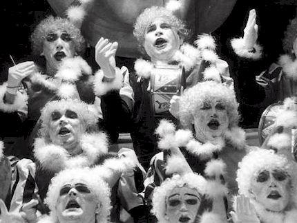 "Coro La Salle-Viña ""Takatá, chin,chin, pon, pon"", primer premio 1989 (foto cortesia ABC Sevilla)"
